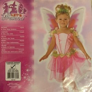 Other - Fairy costume. Size 2-4. Toddler 1-2